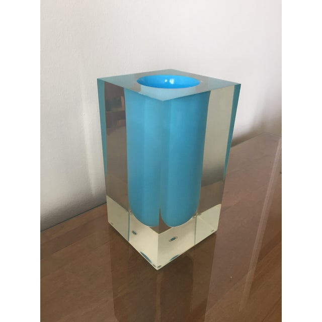 Modern Jonathan Adler Bel Air Test Tube Vase For Sale - Image 3 of 3