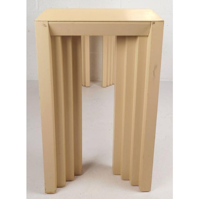 1960s Mid-Century Modern Lacquered Console Table by Lane Furniture Company For Sale - Image 5 of 9