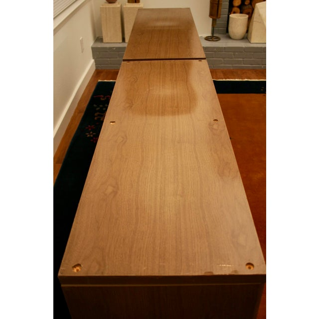 Midcentury Modern 6-Drawer Dressers, a Pair - Image 6 of 11