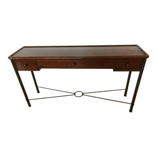 Mahogany Console Sofa Table by Grange For Sale
