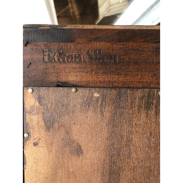 Ethan Allen Old Tavern Pine Bookcase For Sale - Image 9 of 10
