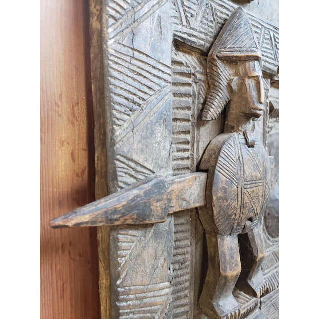 Early 20th Century Antique Tribal Senufo Door For Sale - Image 4 of 7