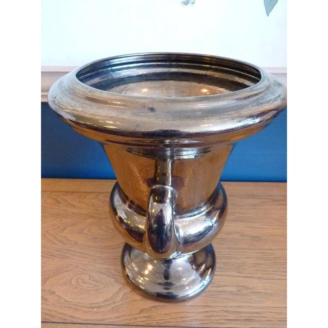 Haeger Glazed Ceramic Urn For Sale In Chicago - Image 6 of 10