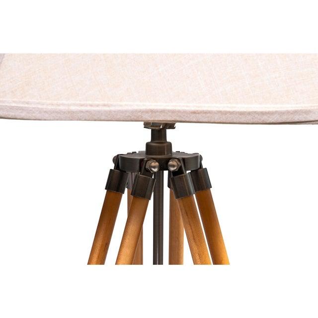 Vintage Adjustable Tri-Pod Lamp - Image 5 of 6