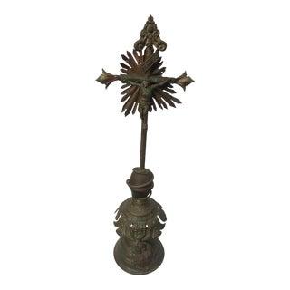 Antique European Altar Cross