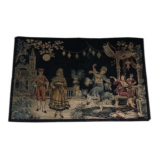Vintage Victorian Tapestry For Sale