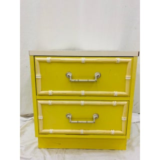 """Vintage """"Bali Hai"""" Faux Bamboo Style Chest Preview"""