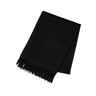 Black Cashmere Throw For Sale