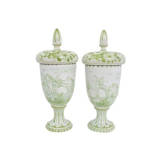 Italian Pottery Jars, Pr For Sale
