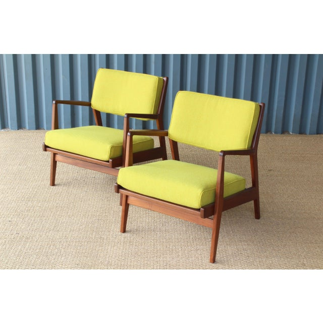 Mid-Century Modern Jens Risom Armchairs, U.S.A, 1960s - a Pair For Sale - Image 3 of 10