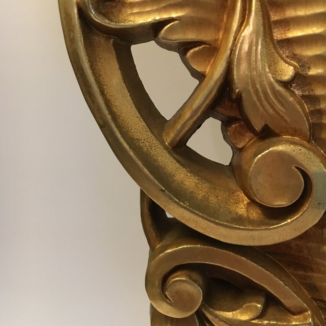Burwood Products Gold Ornate Mirror - Image 5 of 8