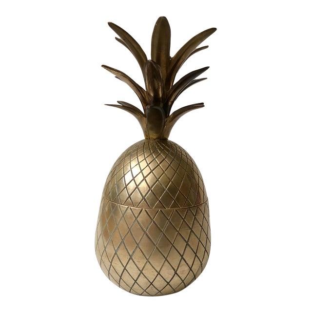 Vintage Brass Pineapple For Sale