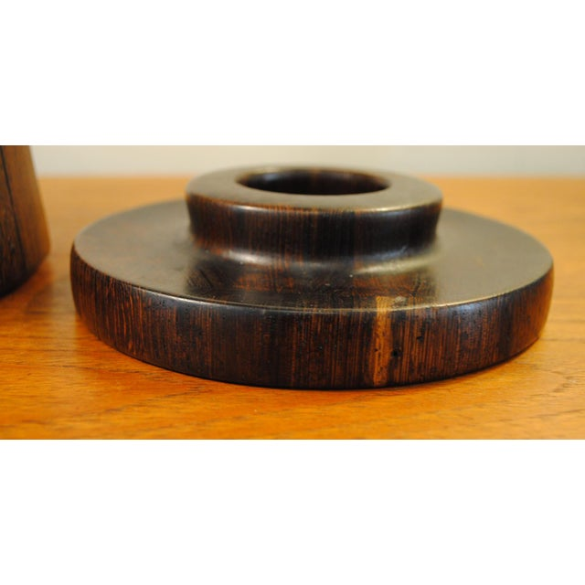 Rare Dansk Wenge Wood Ice Bucket by Jens Quistgaard For Sale - Image 10 of 13