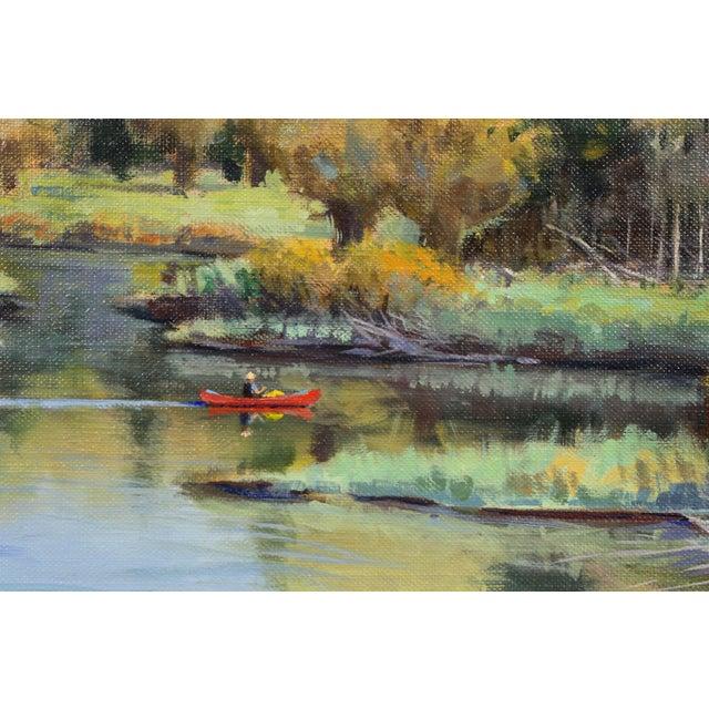Oil on Panel Landscape by Jerry Antolik For Sale - Image 4 of 9