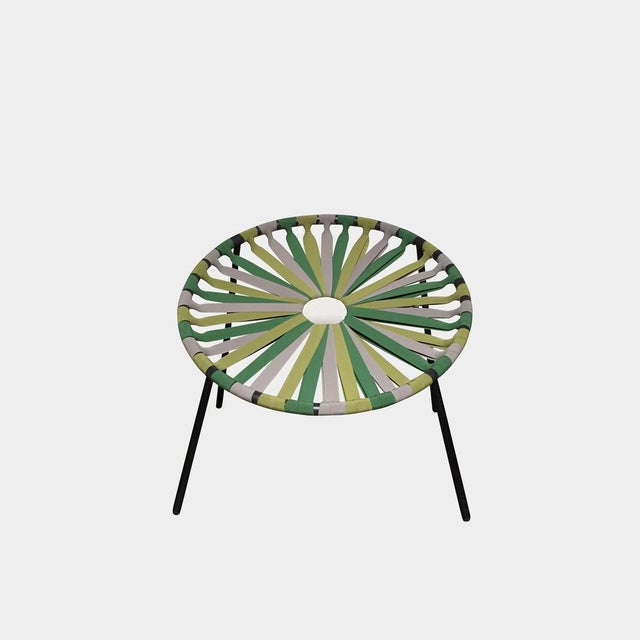 Modern Green Lastika Chair For Sale In Los Angeles - Image 6 of 6