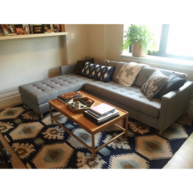 CB2 Cb2 Ditto II Gray Sectional Sofa For Sale - Image 4 of 4