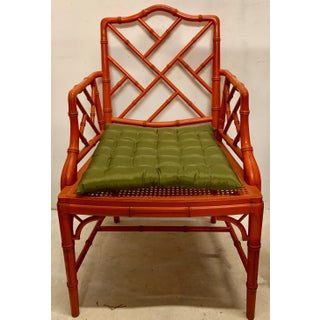 Chinese Chippendale Style Faux Bamboo Chair Preview