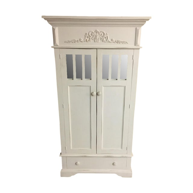 Shabby Chic Cottage Cabinet - Image 1 of 8