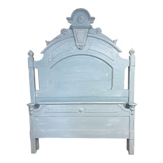 Victorian Aqua Beach Cottage Full Bedframe