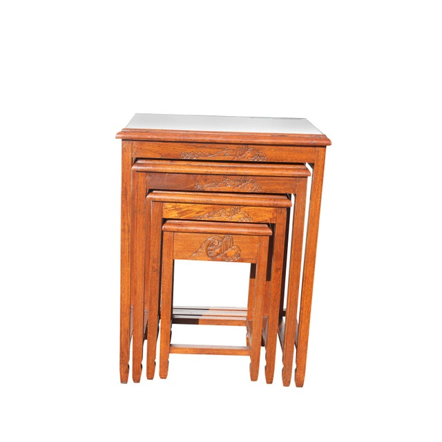 Mid-Century Modern Nesting Tables For Sale - Image 13 of 13