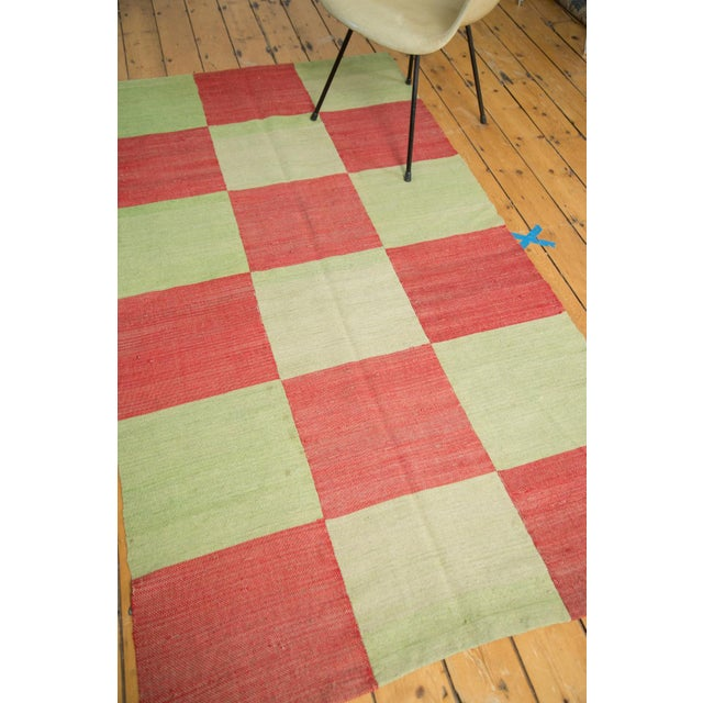 """Contemporary Patchwork Rug - 3'11"""" x 7'3"""" - Image 3 of 7"""
