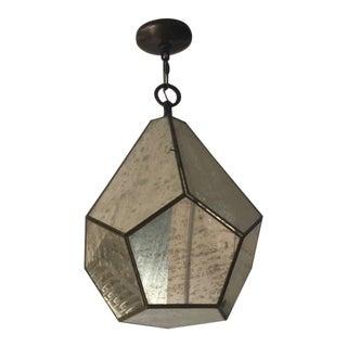 Ballard Designs Mercury Glass Chandelier For Sale