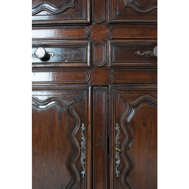 French 18th Century Dark Oak Homme Debout / Cupboard For Sale In Baton Rouge - Image 6 of 10
