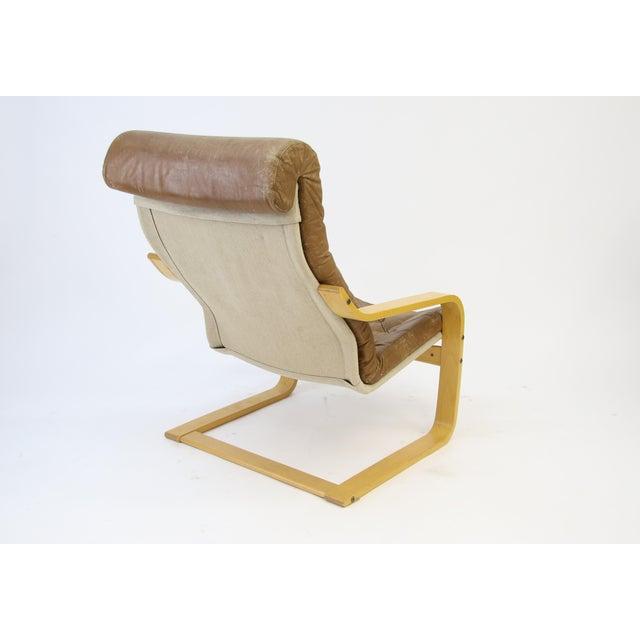 1970s Original Noburu Nakamura for Ikea Poem Chair For Sale - Image 5 of 9