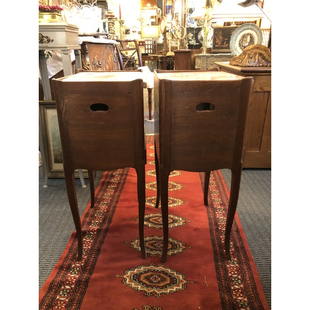 French Antique Early 19th Century French End Tables - a Pair For Sale - Image 3 of 13