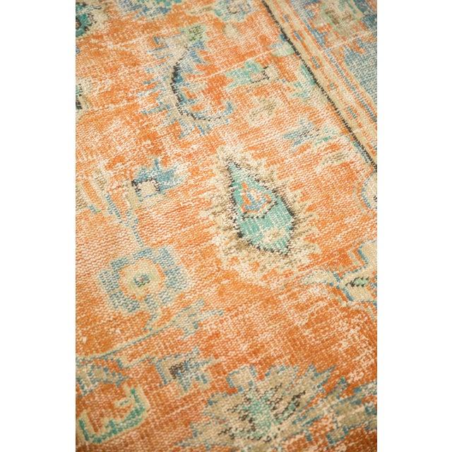 "Textile Vintage Distressed Oushak Carpet - 6'4"" X 9'3"" For Sale - Image 7 of 13"