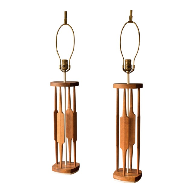 Mid-Century Modern Tony Paul for Westwood Lamps - a Pair For Sale