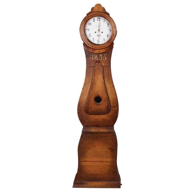 Swedish Longcase Grandfather Clock Anno 1845 For Sale
