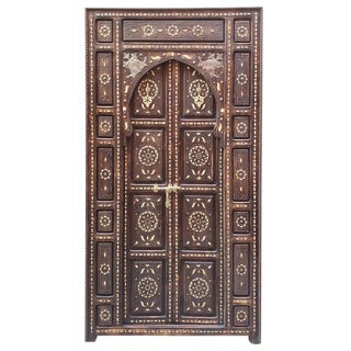 Brown Chefchaouen Wooden Door For Sale