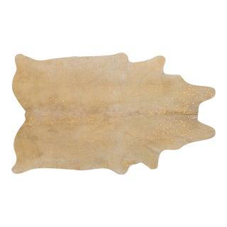 Blonde & Gold Acid Wash Genuine Brazilian Cowhide For Sale