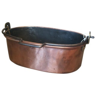 French Copper Pot For Sale