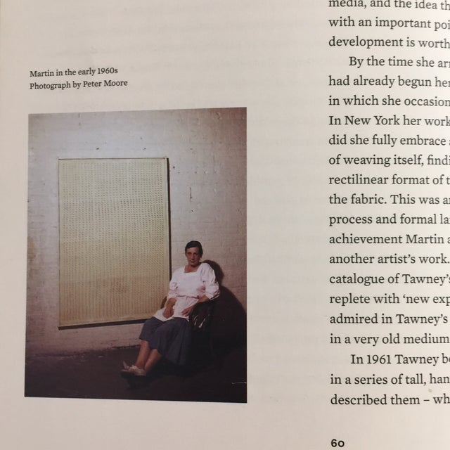 Agnes Martin Coffee Table Book For Sale - Image 4 of 13