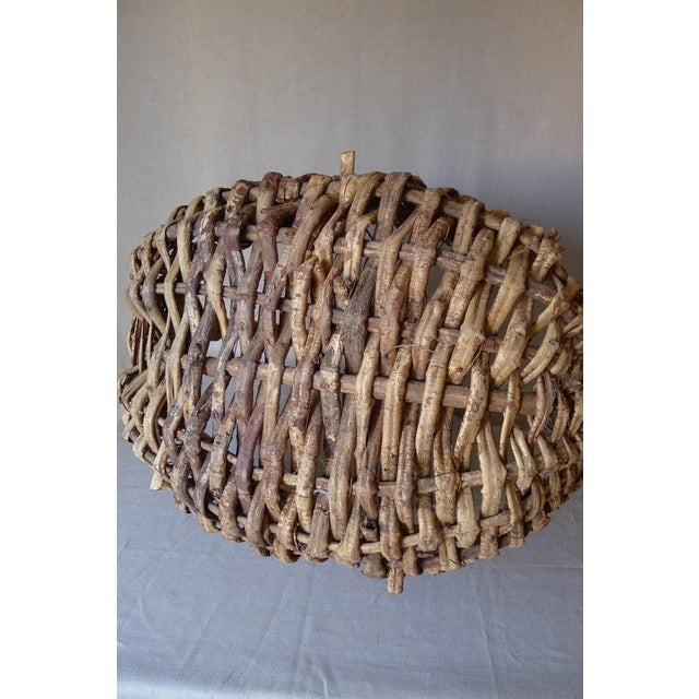 Large Appalachian Handwoven Basket - Image 6 of 7