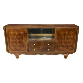 1930s French Art Deco Buffet Sideboard For Sale
