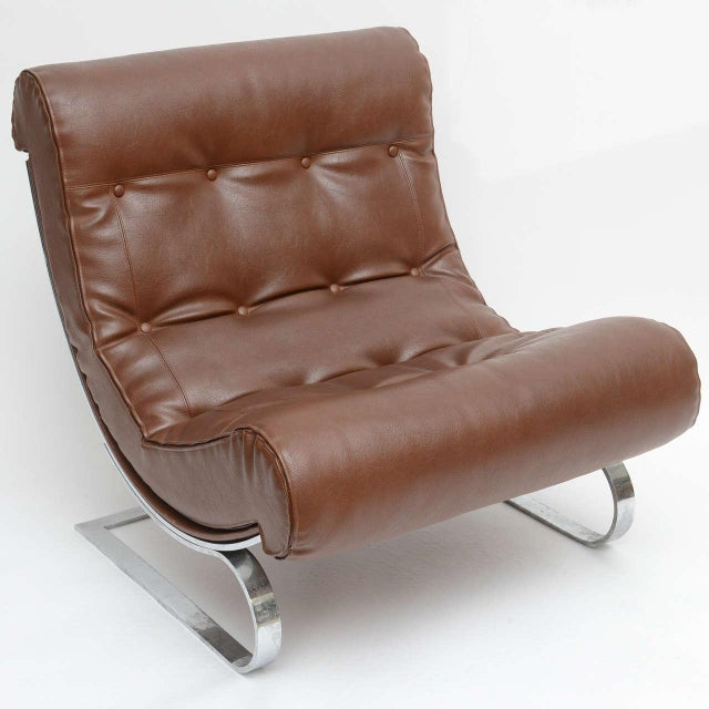 Mid-Century Modern Formanova Club Lounge Chairs - A Pair For Sale - Image 3 of 7