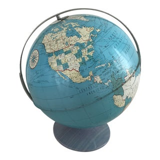 The Ohio Art Company Industrial Metal Globe For Sale