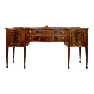 Antique Federal Style Sideboard For Sale