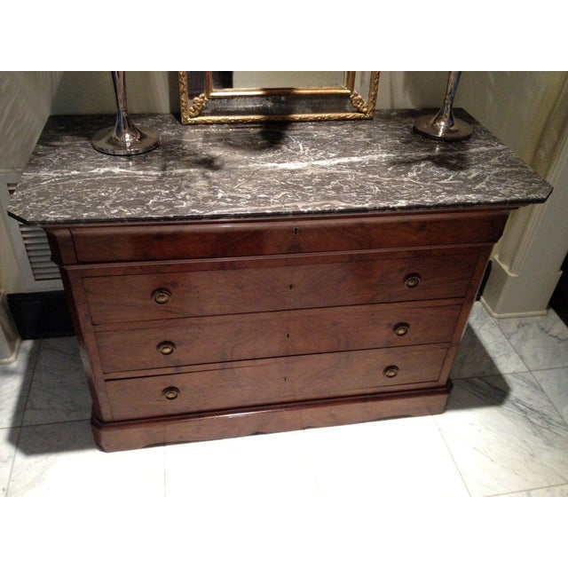 Early 19th Century Louis Philippe Commode For Sale - Image 4 of 7