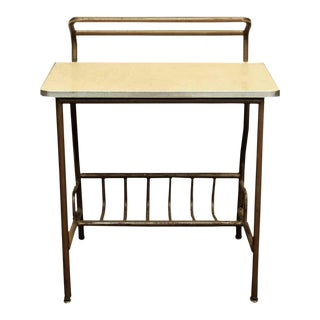 Mid-Century Metal Student's Desk For Sale