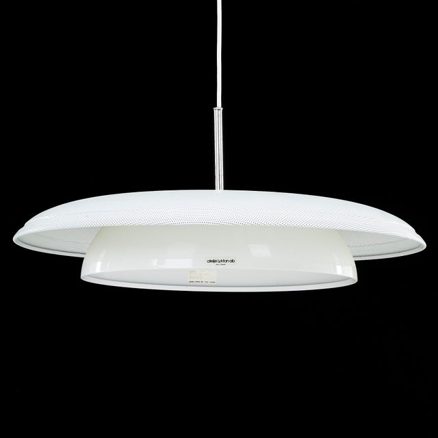 """1980s Large """"Softing"""" Pendant Light by Hand Philip Zachau for Ateljé Lyktan For Sale - Image 5 of 5"""