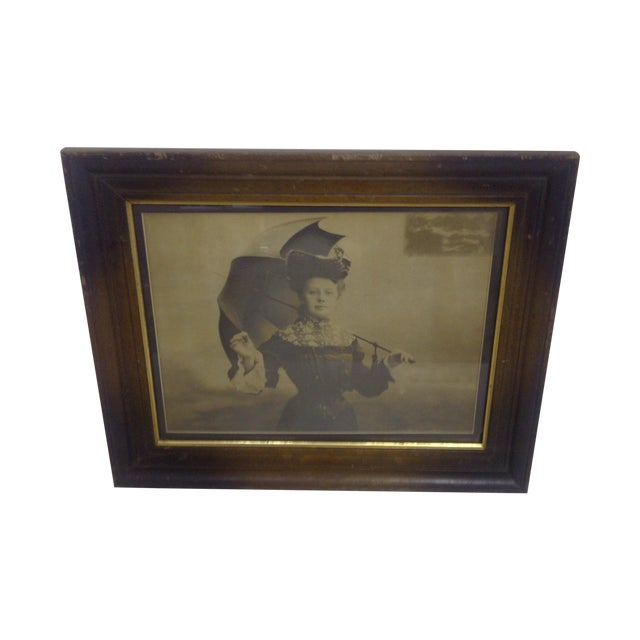 """Victorian Lady"" by Paul Borcl, Signed 1905 - Image 1 of 7"