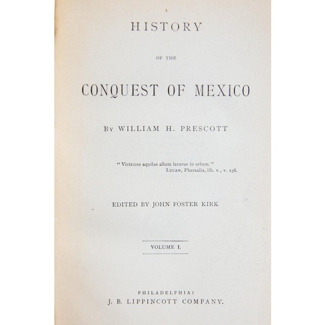History of the Conquest of Mexico by William H. Prescott For Sale - Image 7 of 8