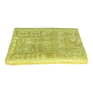 Green Sheesha Bed Cover For Sale