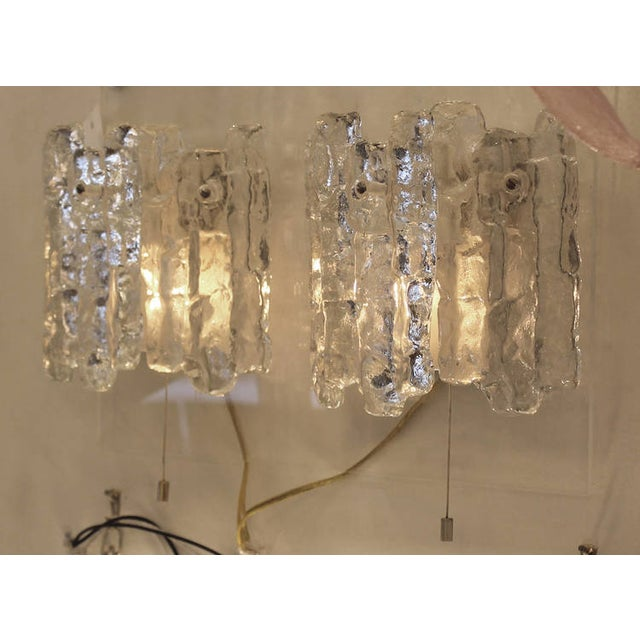Pair of Kalmar Icicle Sconces - Image 4 of 6