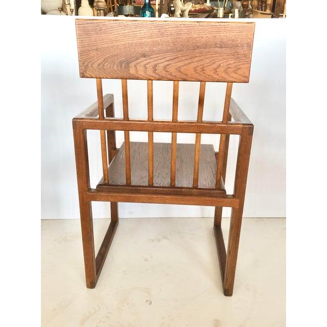 1960s Mid Century Art Studio Chair For Sale - Image 5 of 8