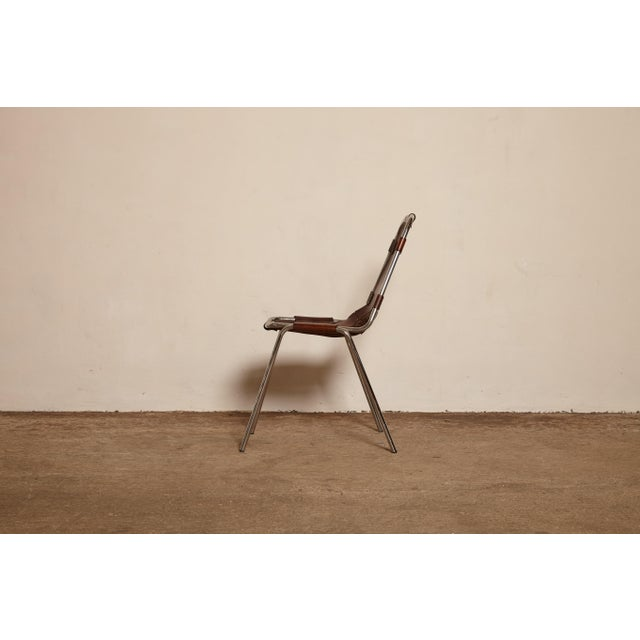 Charlotte Perriand Vintage Mid Century Les Arcs' Chairs Selected by Charlotte Perriand For Sale - Image 4 of 9